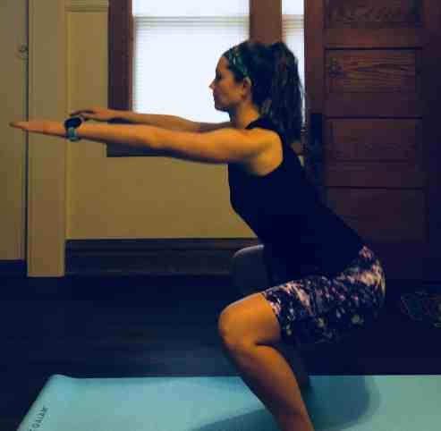 Leg Workout Split Squats