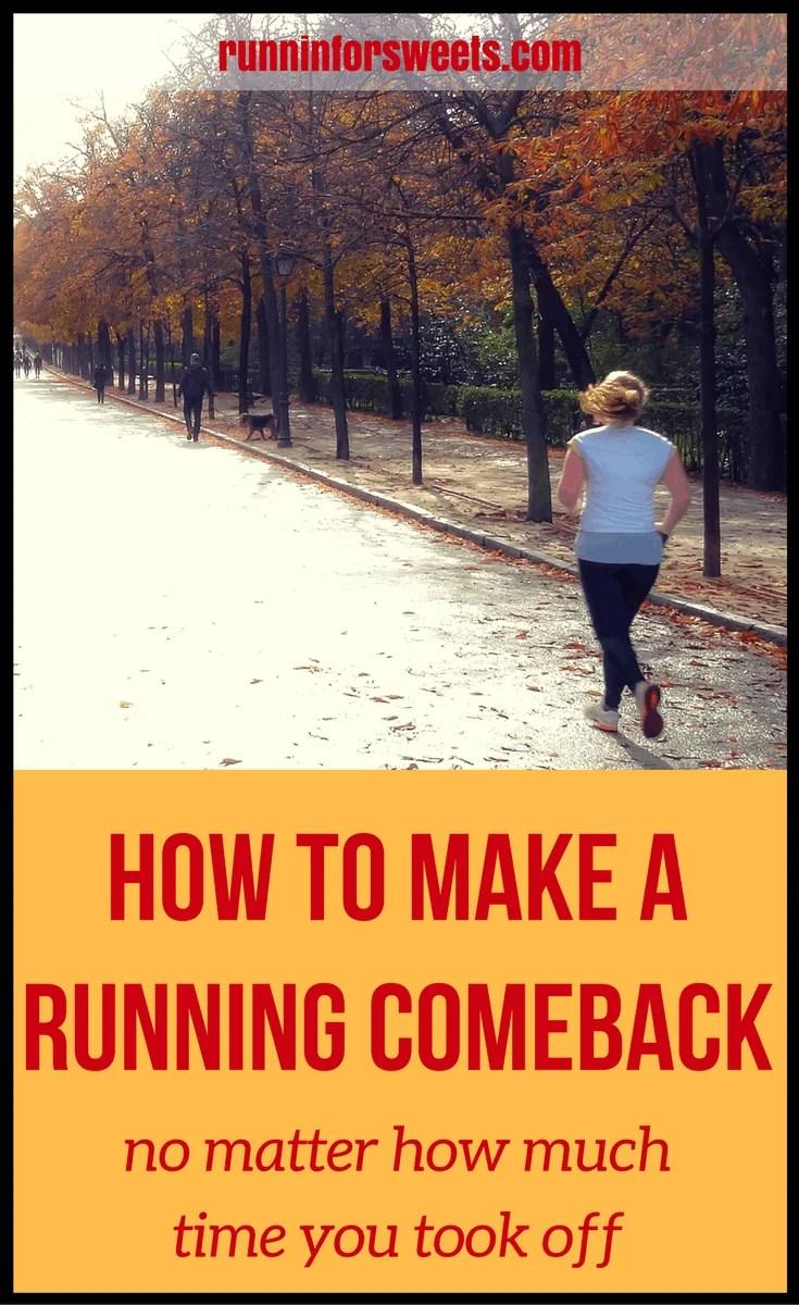 Making a Running Comeback