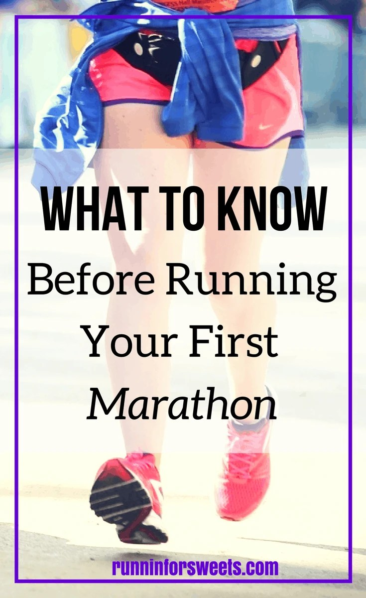 So you're ready to run your first marathon? Congrats. You're about to embark on the greatest journey. Here is some game changing information you'll want to know before marathon training begins. Avoid some injuries and mistakes with these running tips!