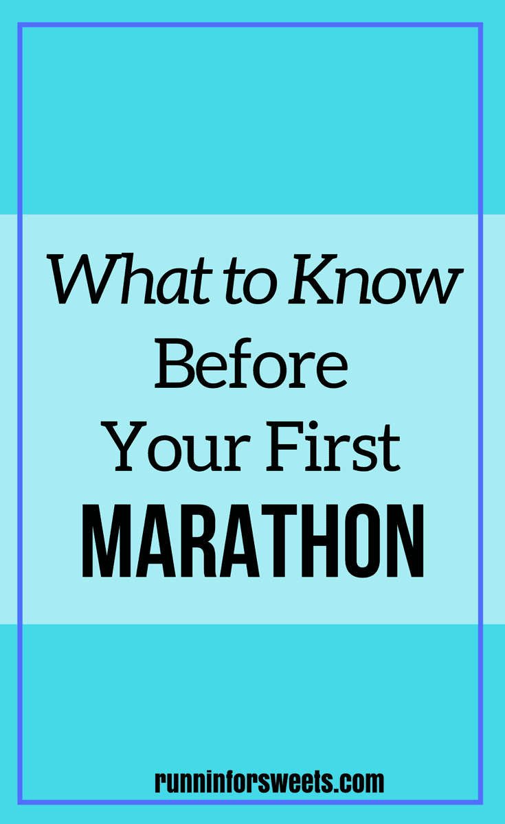What To Know Before First Marathon