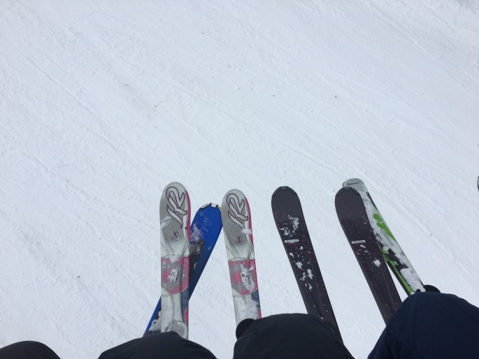 Didn't Workout for 10 Days - Skiing