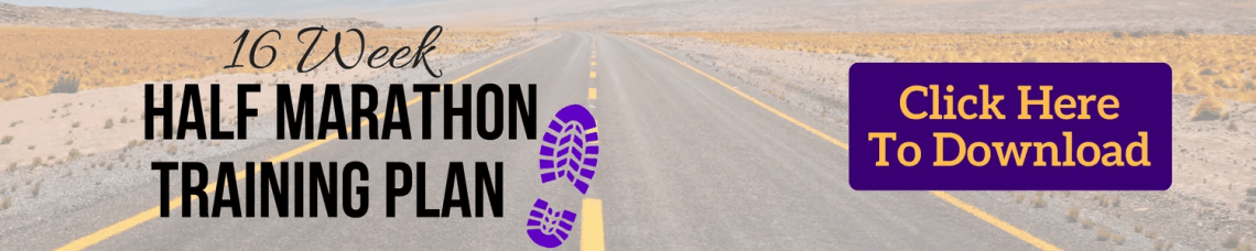 Printable 16 Week Beginner Half Marathon Training Plan