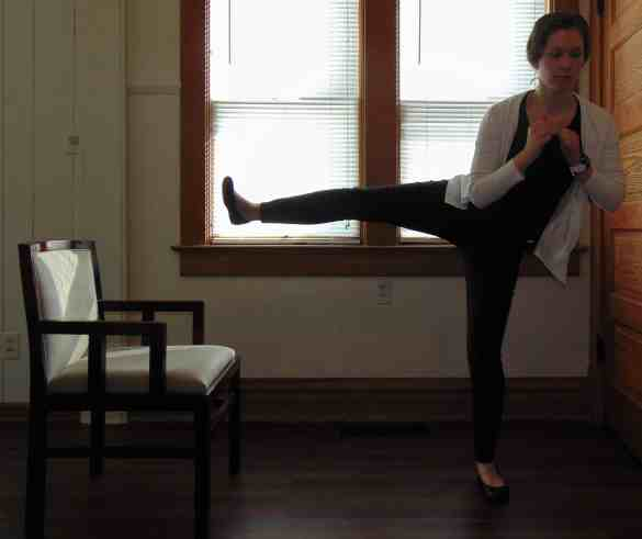 Office-Workout-Standing-Side-Kicks