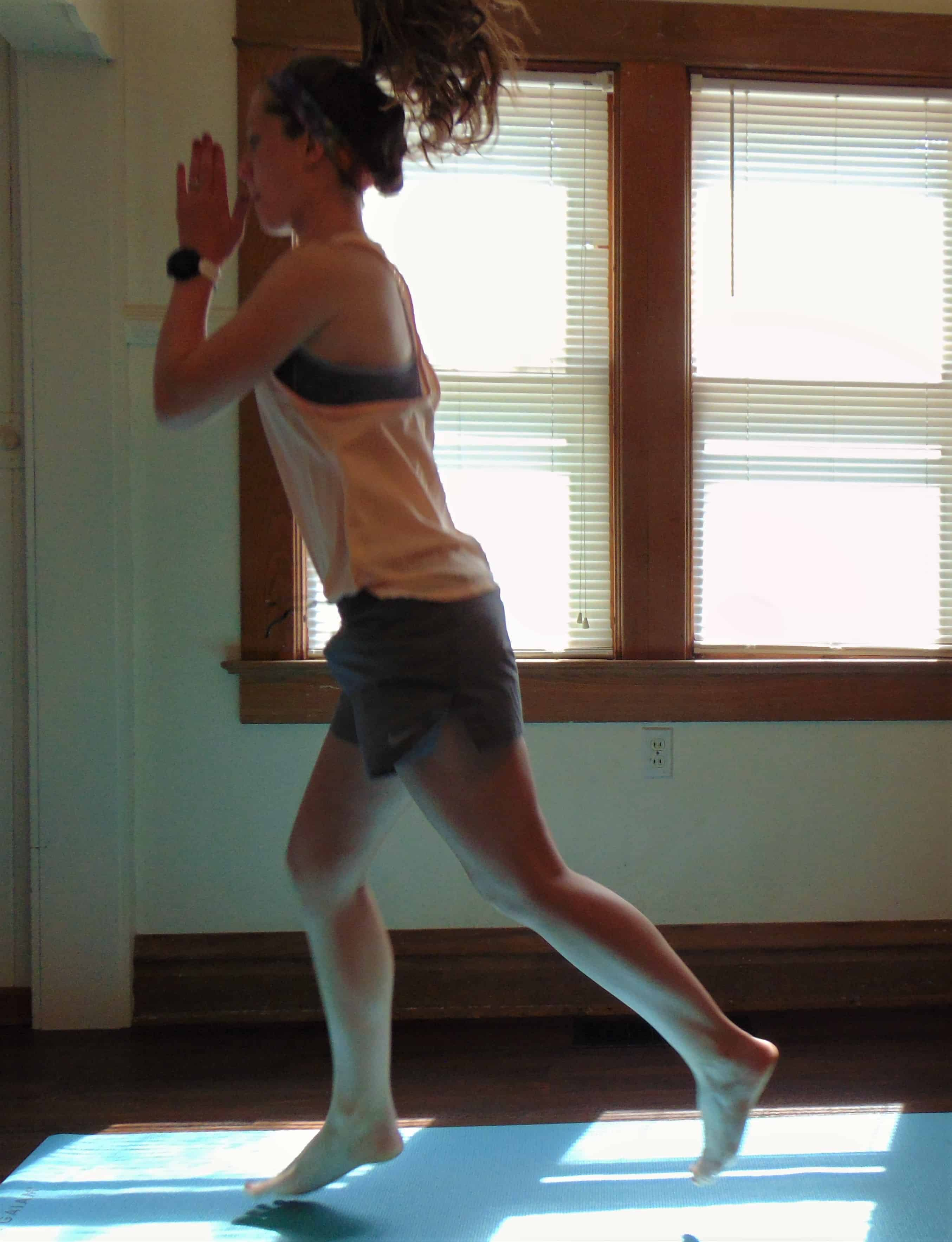 This 30 minute full body at home HIIT workout combines the ultimate cardio moves for an intense workout. With no equipment needed, you can burn calories right at home in your living room. This fat burning workout is the perfect full body routine for summer. Check out these hiit exercises today!