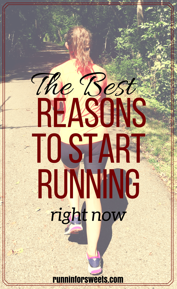 If you've been looking for some reasons to start running, we've got just what you need to find the motivation. These 15 convincing reasons to run will help you run happy, and remain a runner for life. There are so many more reasons to run besides just getting exercise or staying healthy. Check out these amazing benefits! #reasonstorun #startrunning #beginnerrunners