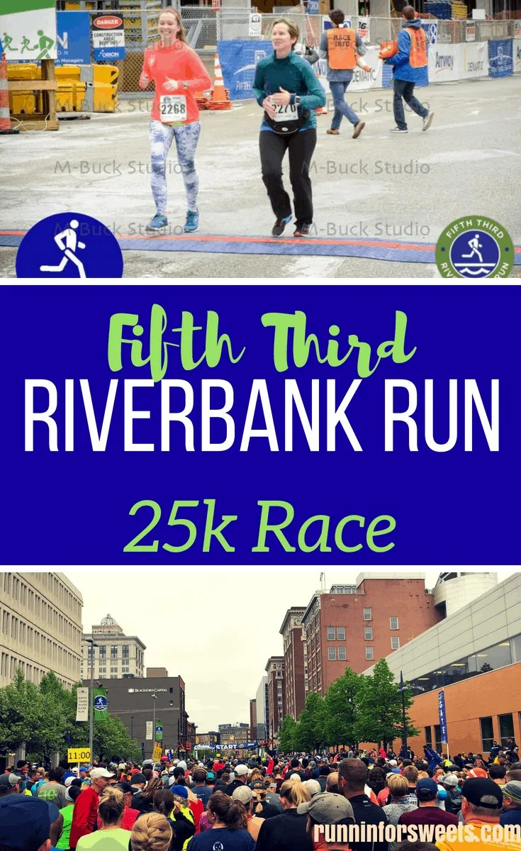 The Fifth Third Riverbank Run 25k in Grand Rapids, Michigan is a 40 year tradition. Here is what you need to know for a successful 25k race downtown! #25k #runningtips