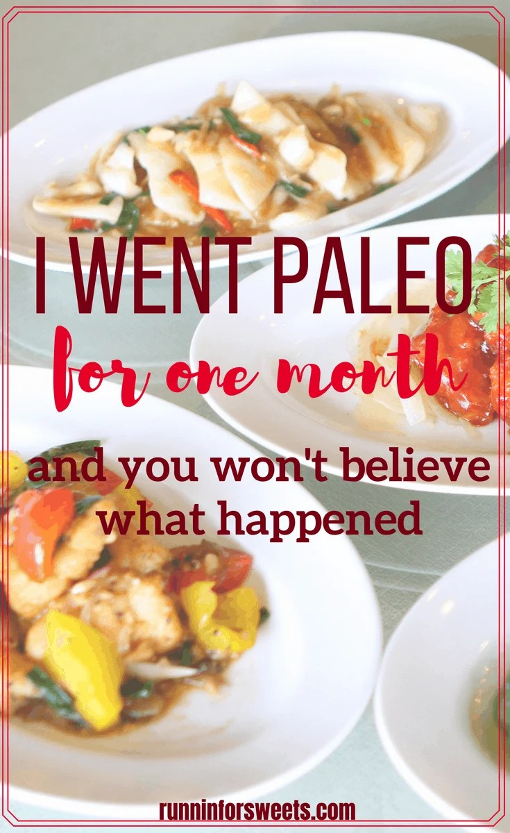 After being diagnosed with an autoimmune disease, I decided to try the paleo diet for 30 days to try and get healthy. The benefits of the paleo diet seemed too good to be true, so I gave it a shot myself. Here is what happened when I went paleo for one month, and all the before and after results I experienced – even coming from an active lifestyle with plenty of exercise. #paleo #paleodiet #paleobenefits #autoimmunedisease