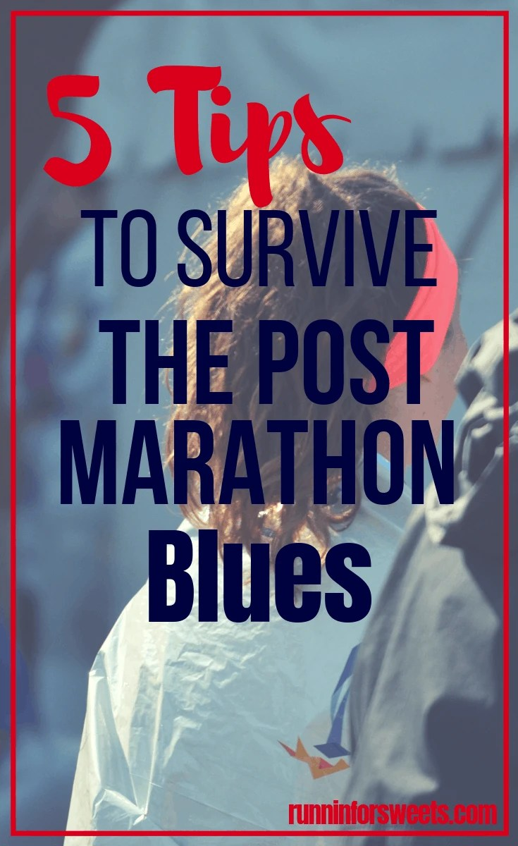 Running a marathon is no small feat. After so many months spent training, many runners find themselves experiencing the post-marathon blues once the race is over. If you're feeling a little lost after running a marathon, here are 5 survival tips to get you through. #postmarathonblues #marathontraining #postmarathon #marathonrecovery