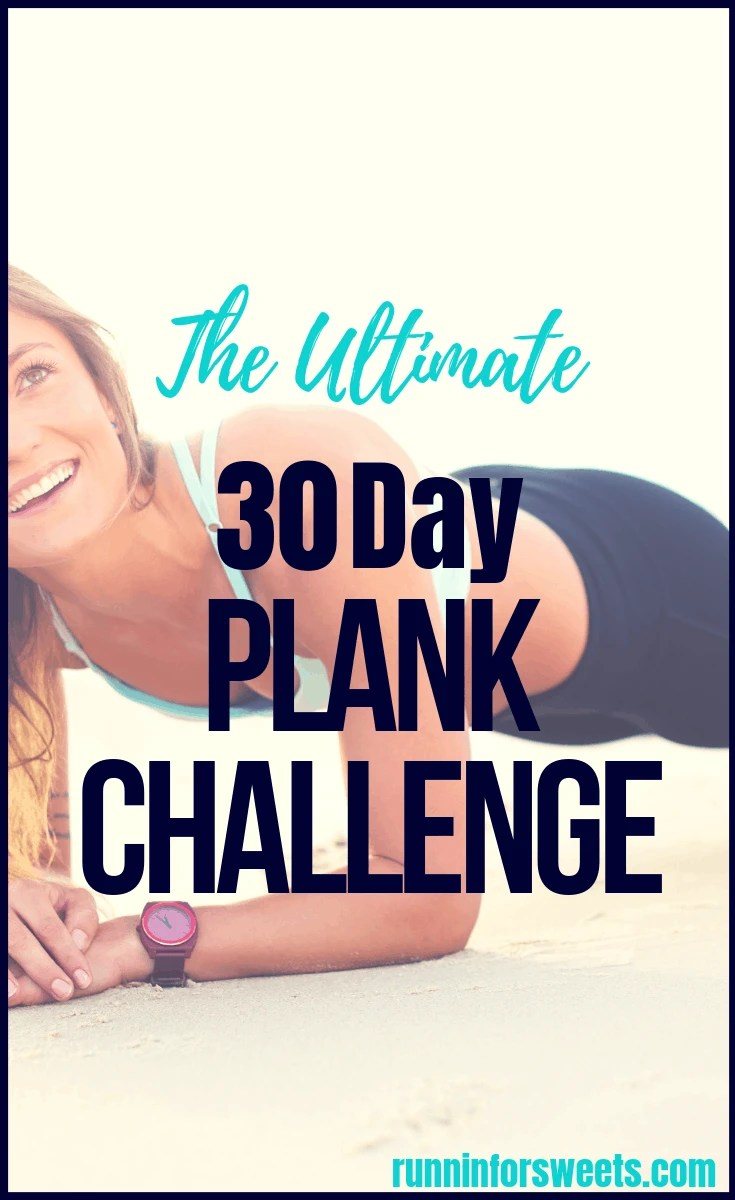 photo regarding 30 Day Plank Challenge Printable called The Top 30 Working day Plank Trouble for Runners Runnin