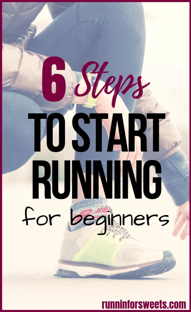 Learn how to start running with ease! These 6 steps for beginner runners will teach you everything you need to know to start running, whether you're overweight or just trying to get healthy. These tips will have you following a running plan in no time. #startrunning #beginnerrunner #runningforbeginners