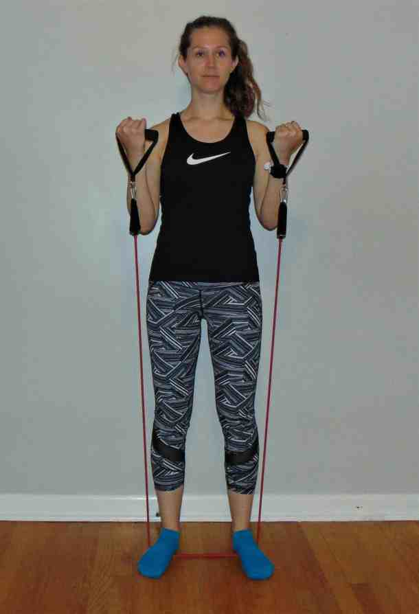 This full body resistance band workout is a simple way to strength train right at home. Try these resistance band exercises to target your glutes, arms, abs, legs, back, thighs, core and more. These resistance band exercises are perfect for runners or any other athletes wanting to increase strength and fitness! #resistancebandworkout #resistancebandexercises #strengthtraining #resistanceband