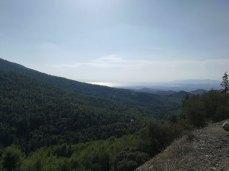 Υμηττός βουνό θέα θάλασσα