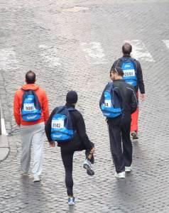 Μαραθώνιος της Ρώμης Τρέξιμο Δρομείς