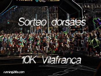 Sorteo dorsales 10k vila 2019
