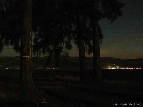 Orava in the moonlight, Slovakia