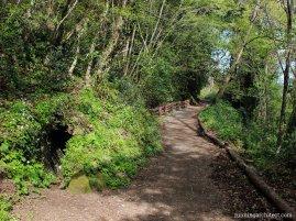 path along aquaducts