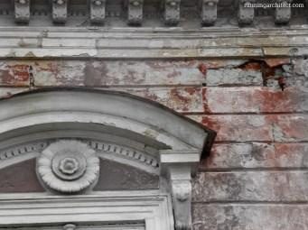 anchors in the facade