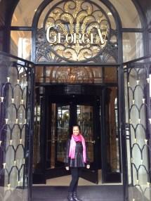 Bienvenue Four Seasons Hotel George