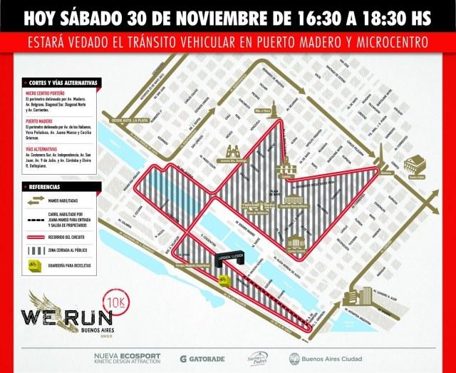 Corte de Calles - We Run 2013
