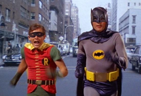 Runnning Batman