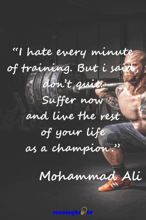 The Top 39 Fitness Motivational Quotes Runningbrite