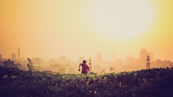 hardlopen ochtendzon
