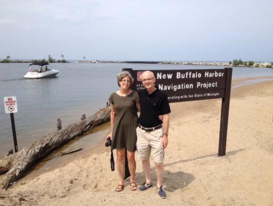 Beach at New Buffalo