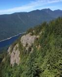 View from Grouse Mountain Gondola