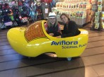 When in Rome (Amsterdam) do as the Romans do (Dutch do) and take photos in an oversized clog!