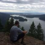 View from Sandero Diez Vistas Trail, Coquitlam British Columbia