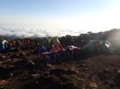 Kikilewa Camp - breakfast above the clouds!