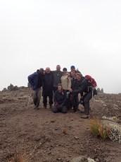 Acclimatization hike above Mawenzi Tarn Hut Camp!