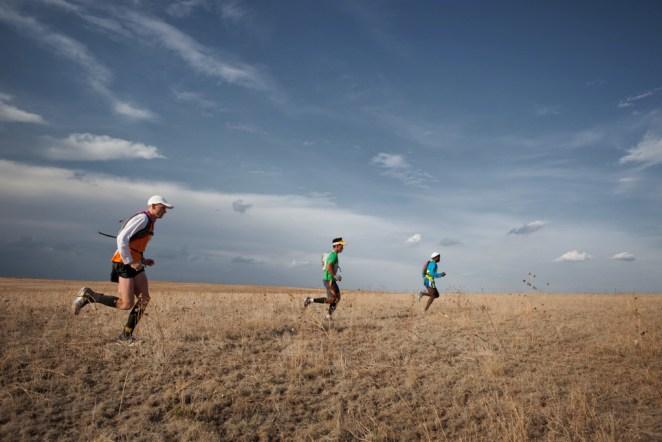 En 2011, des marathoniens ont tenté de reproduire la chasse à l'épuisement dans le cadre d'un film documentaire - crédit photo : Ryan Heffernan