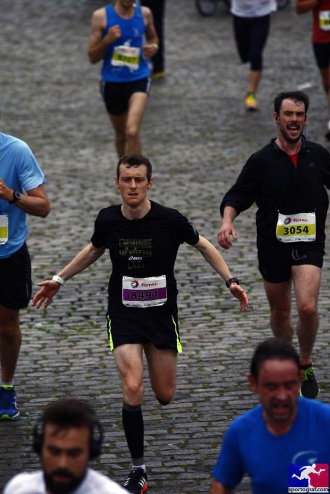 A l'arrivée des 20 km de Bruxelles 2015