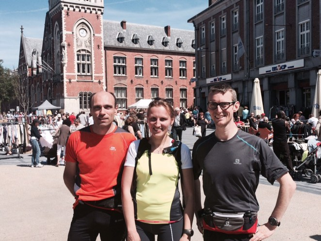 Gilles, Marie, Jonathan, la team