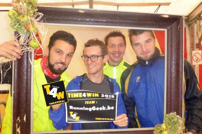 Kaïs, Jonathan, Quentin, Nicolas. Vous retrouverez, à un élément près, la même équipe le 15 novembre à Valence - crédit photo : Time4win