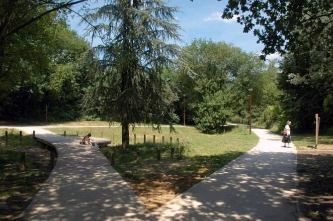 Le Parc de la Source à Louvain-la-Neuve