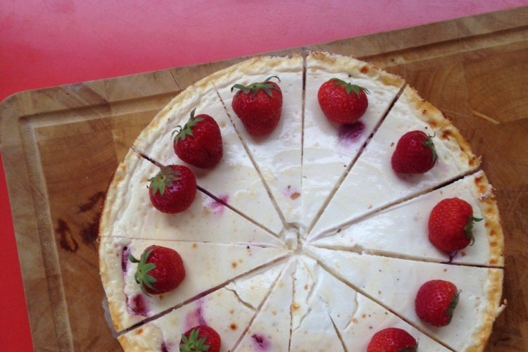 Easy and healthy cheesecake!