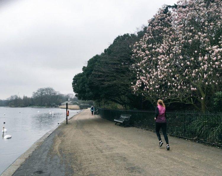 Hardlopen in Londen