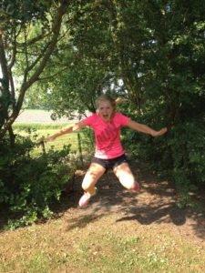 Running Girl Mariët