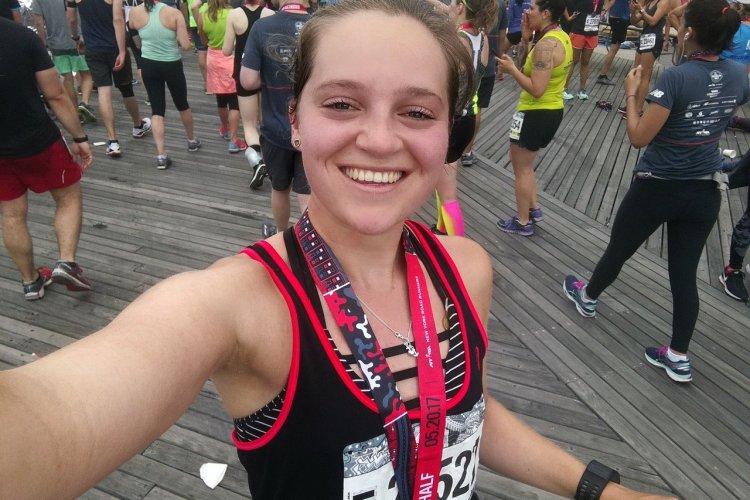 Brooklyn Half Marathon raceverslag van Jasmijn!