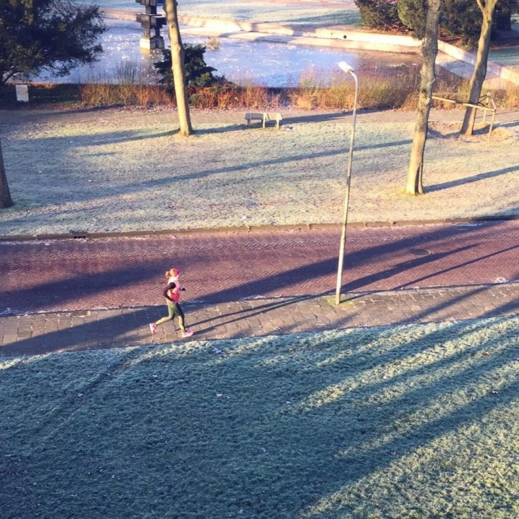 Running Girl Susan