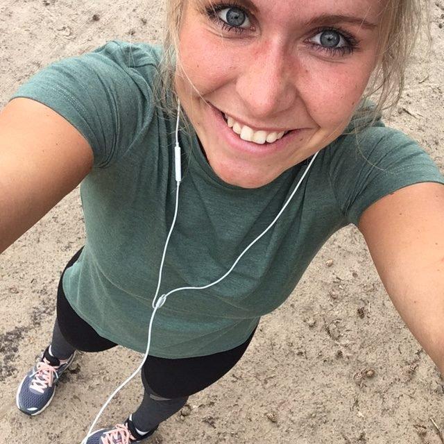 Running girl Meike