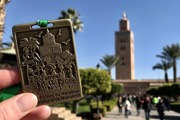 Afbeeldingsresultaat voor running marrakech