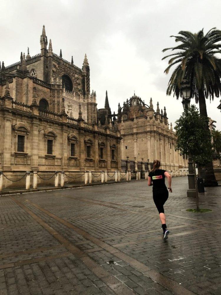 Hardlopen in Sevilla