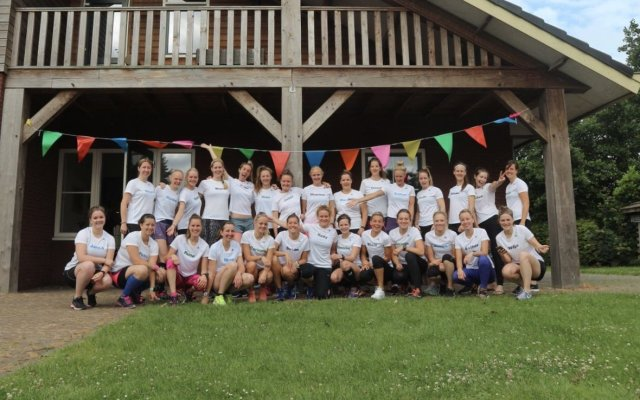 Running Girls Groningen Trainingskamp Schiermonnikoog 2018!