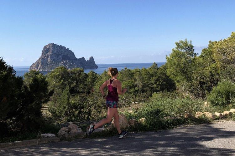 Hardlopen op Ibiza!