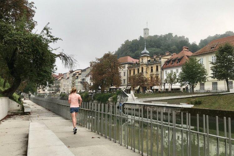 Hardlopen in Ljubljana!