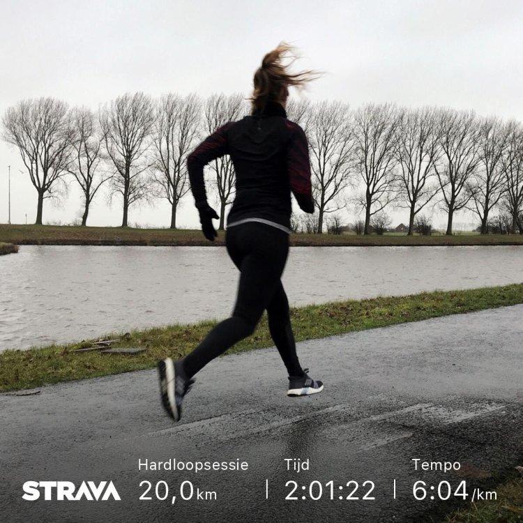 Mijn London Marathon 8