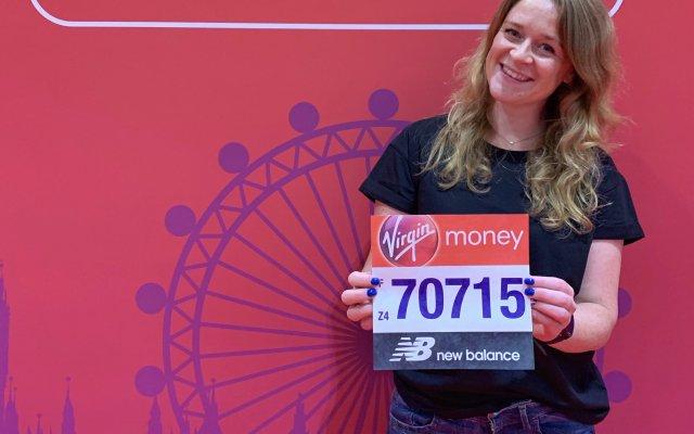 Ik ben klaar voor de London Marathon!